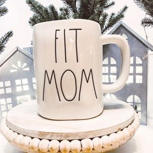Rae Dunn By Magenta Fit Mom Ceramic Mug